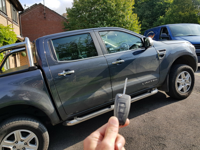 Ford Ranger Keys Reading